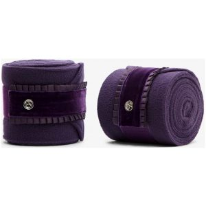 PS OF SWEDEN RUFFLE POLOS PLUM SS21