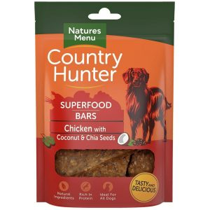 NM COUNTRY HUNTER SUPERFOOD BARS  KYLLING