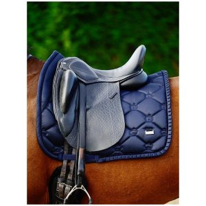 PS OF SWEDEN RUFFLE SADDLE PAD NAVY SS21