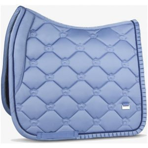 PS OF SWEDEN RUFFLE SADDLE PAD LIGHT BLUE SS21