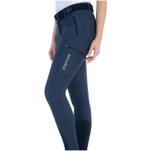 EQUILINE CHANTALC KNEE GRIP BREECHES LOGO COLLECTION