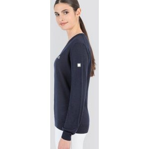 EQUILINE CEKLIC PULLOVER DAME NAVY FW21