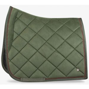 PS OF SWEDEN SADDLE PAD CORDUROY HUNTER GREEN FW21