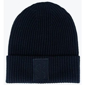 PS OF SWEDEN SALLY KNITTED BEANIE NAVY FW21