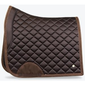 PS OF SWEDEN SADDLE PAD BROWN SUEDE COFFEE FW21
